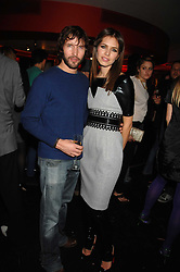 JAMES BLUNT and DASHA ZHUKOVA close friend of Roman Abramovich at a party to celebrate the launch of the Kova & T fashion label and to re-launch the Harvey Nichols Fifth Floor Bar, held at harvey Nichols, Knightsbridge, London on 22nd November 2007.<br /><br />NON EXCLUSIVE - WORLD RIGHTS