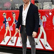 Alex Reid attend Celeb Bri Tea, on board the BB Bakery bus on 22 March 2019, London, UK.