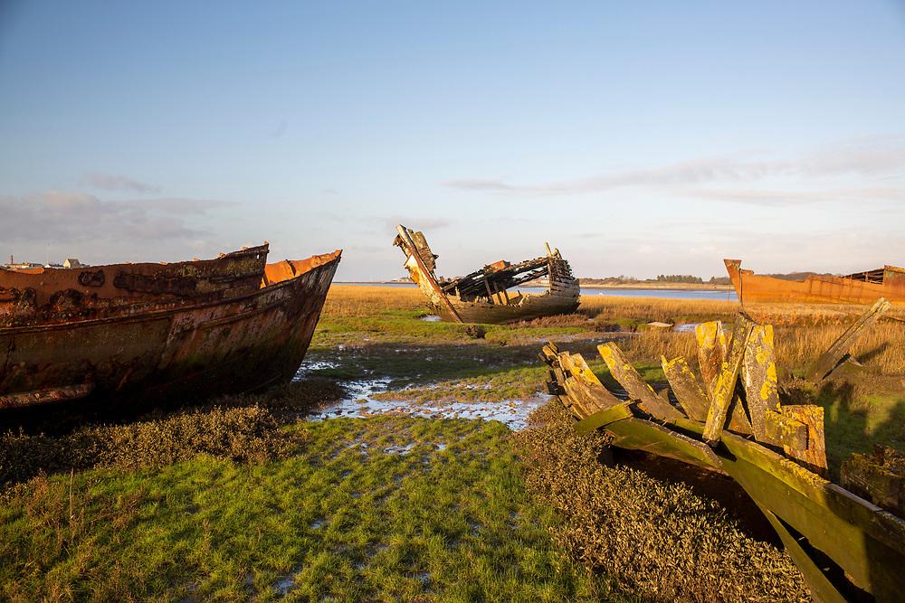 Fleetwood , Lancs - Fishing Industry decline