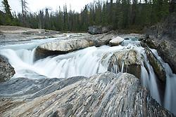 Natural Bridge Falls, Yoho National Park, British Columbia, Canada