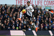 Kyle Walker of Tottenham Hotspur in action. Barclays Premier league match, Tottenham Hotspur v Swansea city at White Hart Lane in London on Sunday 28th February 2016.<br /> pic by John Patrick Fletcher, Andrew Orchard sports photography.
