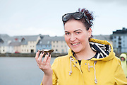 25/09/2016 Ciara McCarth Athlone at the Galway International Oyster Festival Photo:Andrew Downes, XPOSURE.
