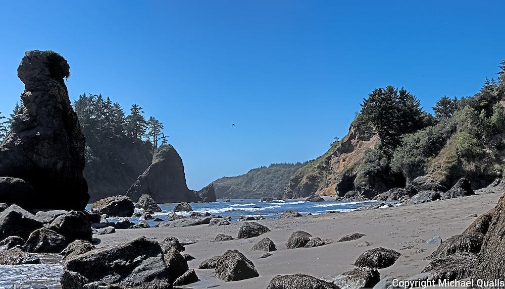 Trinidad Beach at Trinidad State Park.  California.  USA