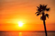 Scenic Orange County Sunset