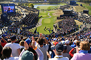 Illustration 1st Tee during the sunday singles session of Ryder Cup 2018, at Golf National in Saint-Quentin-en-Yvelines, France, September 30, 2018 - Photo Philippe Millereau / KMSP / ProSportsImages / DPPI