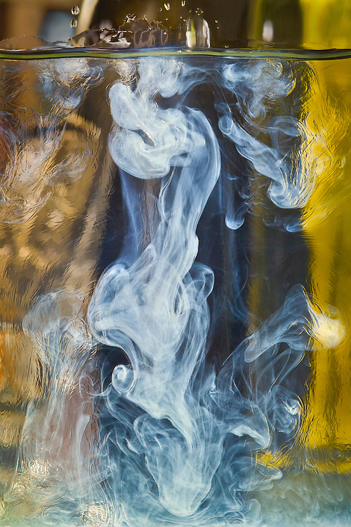 """Affectionately titled, """"Satchmo"""". The traditional preparation of absinthe conjures up visions as the swirls rush to form the louche. When cold water is dripped into the absinthe, the mixture begins to turn milky white. This is known as the louche. The effect is beautiful and one might see the influence absinthe had on the Impressionist Art movement."""