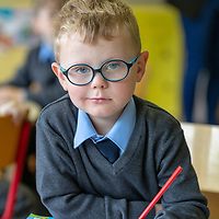 Fiachra Foy on his First day at Cooraclare National School