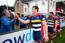 Sam Jeffries of Bristol Rugby - Rogan/JMP - 28/10/2017 - RUGBY UNION - Stade Santander International - St Peter, Jersey - Jersey Reds v Bristol Rugby - Greene King IPA Championship.