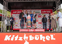 12.07.2019, Kitzbühel, AUT, Ö-Tour, Österreich Radrundfahrt, 6. Etappe, von Kitzbühel nach Kitzbüheler Horn (116,7 km), im Bild Vadim Pronskiy (KAZ, Vino - Astana Motors) bester Jungprofi der Österreich Rundfahrt // Vadim Pronskiy of Kazakhstan (Vino - Astana Motors) best young rider of the Tour of Austria during 6th stage from Kitzbühel to Kitzbüheler Horn (116,7 km) of the 2019 Tour of Austria. Kitzbühel, Austria on 2019/07/12. EXPA Pictures © 2019, PhotoCredit: EXPA/ Reinhard Eisenbauer