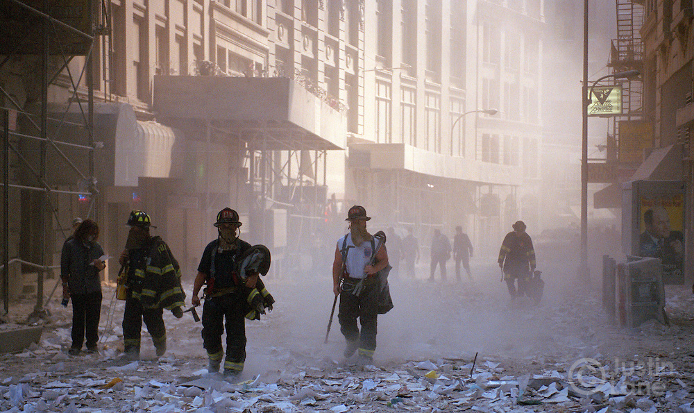 New York, New York, September 11, 2001.