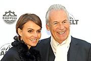 Pepe Lienhard mit Ehefrau Christine anlässlich der Gala von DAS ZELT 2019