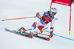 Michelle Gisin (SUI) of Slovenia during the Ladies' Giant Slalom at 57th Golden Fox event at Audi FIS Ski World Cup 2020/21, on January 16, 2021 in Podkoren, Kranjska Gora, Slovenia. Photo by Vid Ponikvar