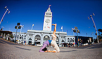 Ai Kubo at the Ferry Building, San Francisco