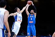 DESCRIZIONE : Lille Eurobasket 2015 Ottavi di Finale Eight Finals Israele Italia Israel Italy<br /> GIOCATORE : Andrea Bargnani<br /> CATEGORIA : tiro three points<br /> SQUADRA : Italia Italy<br /> EVENTO : Eurobasket 2015 <br /> GARA : Israele Italia Israel Italy<br /> DATA : 13/09/2015 <br /> SPORT : Pallacanestro <br /> AUTORE : Agenzia Ciamillo-Castoria/Max.Ceretti<br /> Galleria : Eurobasket 2015 <br /> Fotonotizia : Lille Eurobasket 2015 Ottavi di Finale Eight Finals Israele Italia Israel Italy