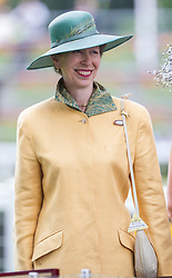 Princess Anne Presents the King George VI Trophy<br /> Ascot Racecourse, Ascot, United Kingdom<br /> Saturday, 27th July 2013<br /> Picture by  i-Images