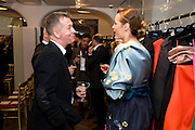 YASMIN LE BON; JOHN MAYBURY, The Launch of the Lanvin store on Mount St. Presentation and cocktails.  London. 26 March 2009