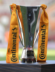 February 23, 2019 - Sheffield, England, United Kingdom - The trophy      during the  FA Women's Continental League Cup Final  between Arsenal and Manchester City Women at the Bramall Lane Football Ground, Sheffield United FC Sheffield, Saturday 23rd February. (Credit Image: © Action Foto Sport/NurPhoto via ZUMA Press)