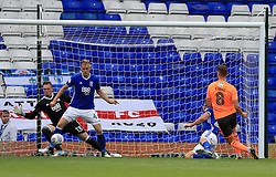 George Evans of Reading extends his sides lead (0-2) - Mandatory by-line: Paul Roberts/JMP - 26/08/2017 - FOOTBALL - St Andrew's Stadium - Birmingham, England - Birmingham City v Reading - Sky Bet Championship
