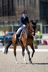 Brauwers Louise, BEL, Graaf Donnerhall <br /> CDI3* Opglabbeek<br /> © Hippo Foto - Sharon Vandeput<br /> 23/04/21