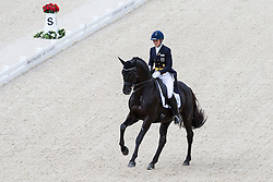 Terhi Stegars, (FIN), Axis TSF - Grand Prix Team Competition Dressage - Alltech FEI World Equestrian Games™ 2014 - Normandy, France.<br /> © Hippo Foto Team - Leanjo de Koster<br /> 25/06/14