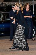 Koningin Maxima komt aan bij de Finale Gala-avond van het 10de Internationaal Franz Liszt Pianoconcours<br /> <br /> Queen Maxima arrives at the Final Gala evening of the 10th International Franz Liszt Piano Competition