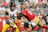 NFL-Pittsburgh Steelers at San Francisco 49ers-Sep 22, 2019