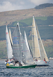 Lights winds dominated the Pelle P Kip Regatta  at Kip Marine weekend of 12/13th May 2018<br /> <br /> Lady Ex. In CYCA Class 4<br /> <br /> Images: Marc Turner
