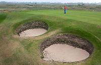 SANDWICH (GB) - Hole 10. The Royal St. George's Golf Club (1887), één van de oudste en meest beroemde golfclubs in Engeland. COPYRIGHT KOEN SUYK
