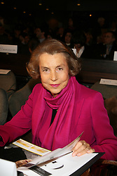 File photo - Liliane Bettencourt attends the 10th L'OREAL-UNESCO for Women in Science Awards in Paris, France on March 6, 2008. Liliane Bettencourt has died aged 94 it was announced on September 21, 2017. Bettencourt was the richest person in France and the third-richest woman in the world with a net worth of $40 billion. She was the sole heir to L'Oreal, the largest cosmetics company in the world, which was started by her father, and a large shareholder in Nestle. Nearly a decade ago a trial forced Liliane's personal business into the public light, laid bare her obsession with a flashy homosexual photographer whom she turned into a billionaire, destroyed her relationship with her daughter, turned a long time family butler against her, and, finally, turned the dowager heiress into even more of a recluse than she had been before. Photo by Denis Guignebourg/ABACAPRESS.COM