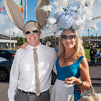 REPRO FREE<br /> Richard and Helen Duhig from Ladysbridge pictured at the 43nd Kinsale Gourmet Festival Mad Hatters Taste of Kinsale.<br /> Picture. John Allen