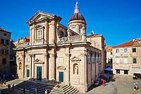 Croatie, Dalmatie, côte dalmate, Dubrovnik, centre historique classé Patrimoine Mondial de l'UNESCO, vieille ville, cathedrale de l'Assomption// Croatia, Dalmatia, Dubrovnik, historical centre, Unesco World Heritage site, old town, cathedral Treasury