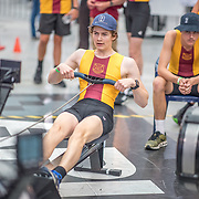 Edwin Wills MALE HEAVYWEIGHT U17 1K Race #13  12:15pm<br /> <br /> www.rowingcelebration.com Competing on Concept 2 ergometers at the 2018 NZ Indoor Rowing Championships. Avanti Drome, Cambridge,  Saturday 24 November 2018 © Copyright photo Steve McArthur / @RowingCelebration