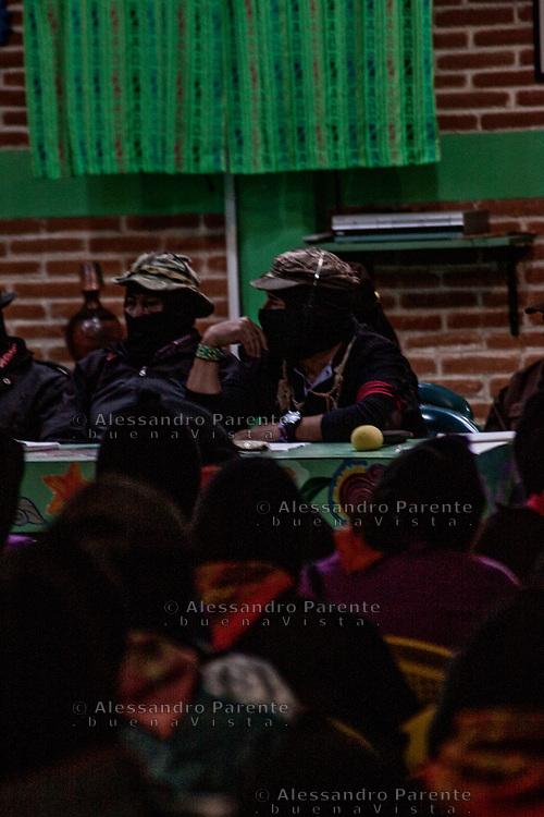 Sub comandante Galeano, ex Marcos, durante festival ConCiencias.