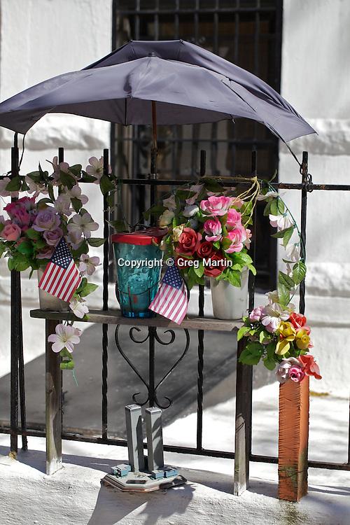 9/11 memorial in Park Slope Brooklyn, NY