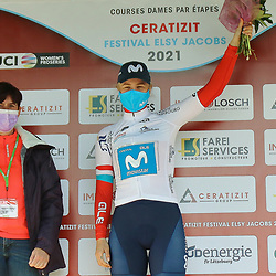 02-05-2021: Wielrennen: Elsy Jakobs : Luxembourg: <br /> Danish rider Emma Nosgaard (Movistar) wins final stage and overall GC