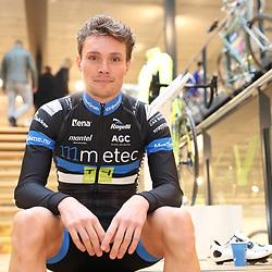 03-02-2017: Wielrennen: Teampresentatie Metec: Arnhem<br />ARNHEM (NED) wielrennen  <br />Johiem Ariesen is klaar voor het seizoen 2017