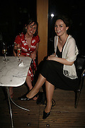 Jill Halfpenny and Lucy Mcnally, Press night for Sunday in the Park with George, Inn The Park, St james Park opp ICA. 23 May 2006. <br />ONE TIME USE ONLY - DO NOT ARCHIVE  © Copyright Photograph by Dafydd Jones 66 Stockwell Park Rd. London SW9 0DA Tel 020 7733 0108 www.dafjones.com