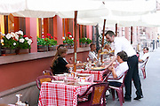 restaurant terrace colmar alsace france