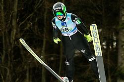 Spela Rogelj of Slovenia during Team Competition at Day 2 of World Cup Ski Jumping Ladies Ljubno 2019, on February 9, 2019 in Ljubno ob Savinji, Slovenia. Photo by Matic Ritonja / Sportida