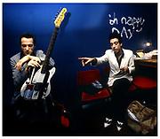 The Clash , Mick Jones backstage London Lyceum  1981