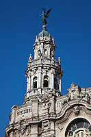 Stunning architecture of the Great Theatre of Havana, Cuba.