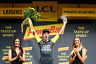 Podium winner Primoz Roglic (SLO - Team LottoNL - Jumbo) during the 105th Edition of Tour de France 2018, cycling race stage 19, Lourdes - Laruns (200 km) on July 27, 2018 in Laruns, France - photo Kei Tsuji / BettiniPhoto / ProSportsImages / DPPI