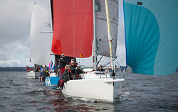 Largs Regatta Week 2017 <br /> Day 1<br /> <br /> GBR8543R, Jings, Robin Young, CCC, J109<br /> <br /> Picture Marc Turner