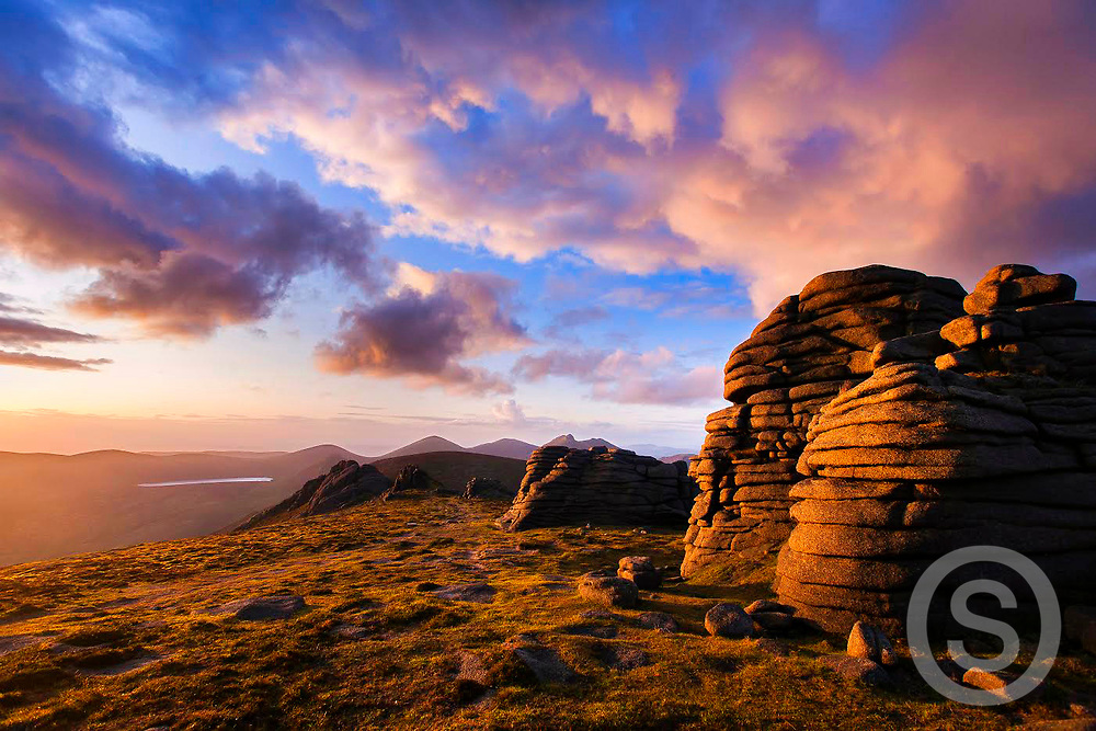 Photo: Paul Lindsay, Mourne Mountains, Co. Down