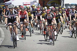 June 17, 2017 - Schaffhausen, Schweiz - Schaffhausen, 17.06.2017, Radsport - Tour de Suisse, Feature Start an der Tour de Suisse. (Credit Image: © Melanie Duchene/EQ Images via ZUMA Press)