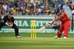 © Licensed to London News Pictures. 26/12/2013. Ravi Bopara during the 2nd T20 international between Australia Vs England at the Melbourne Cricket Ground, Victoria, Australia. Photo credit : Asanka Brendon Ratnayake/LNP