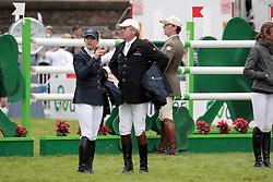 Kraut Laura (USA), Skelton Nick (GBR)<br /> Dublin Horse Show 2012<br /> © Hippo Foto - Beatrice Scudo