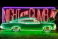 Night at the Climb In by: Dustin Weatherford from: Reno, NV year: 2018<br /> <br /> Night at the Climb In will be a 70 foot tall stack of reclaimed junkyard cars, stacked straight up, one on top of the next. Every car will be climbable, visitable, interactive in its own way. The stack will end in a crows nest that sits at the top of the structure, just under a large spinning lit up sign.<br /> <br /> URL: https://www.facebook.com/nightattheclimbin/ My Burning Man 2018 Photos:<br />