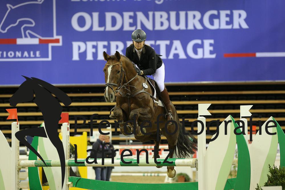 Stölting, Carla Lagos<br /> Oldenburg - Oldenburger Pferdetage 2013<br /> Internationales Springen<br /> © www.sportfotos-lafrentz.de / Stefan Lafrentz