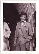 Lord Edward Somerset, Wedding. 1985 approx.